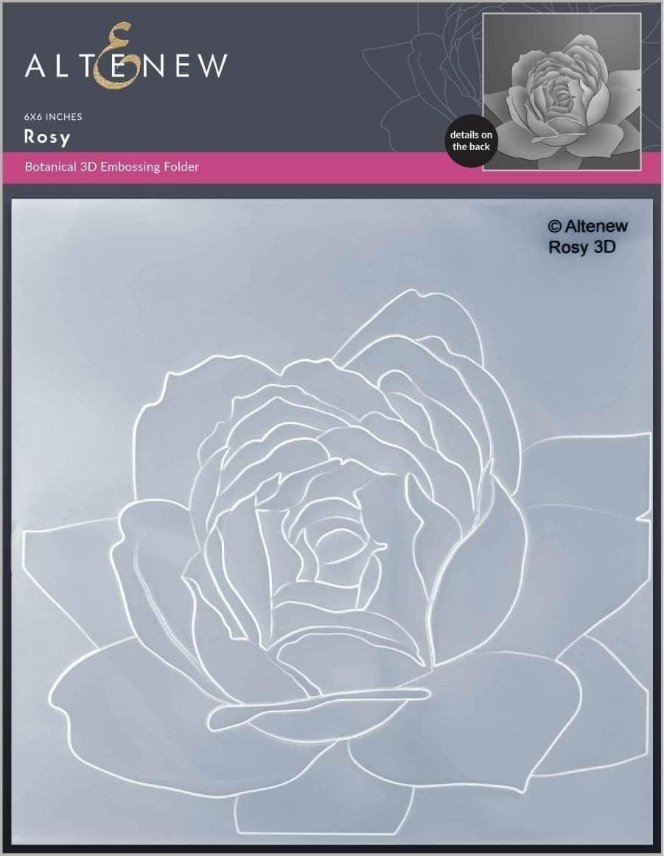 Altenew -  3D Embossing Folder - Rosy