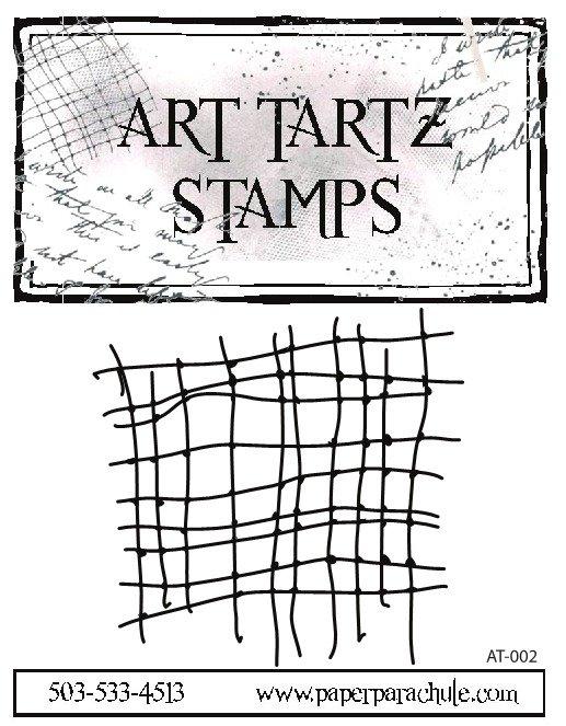 Art Tartz Rubber Stamp - Net