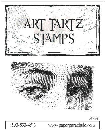 Art Tartz Rubber Stamp - Eyes