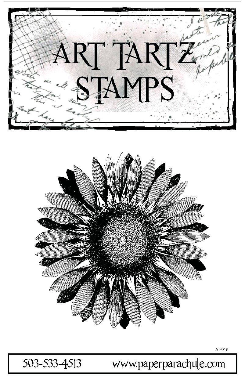 Art Tartz Rubber Stamp -Sunflower