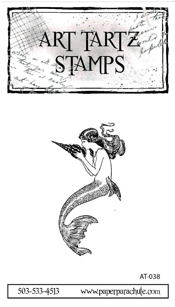Art Tartz Rubber Stamp - Mermaid kisses