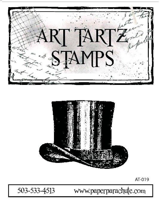 Art Tartz Rubber Stamp - Top Hat