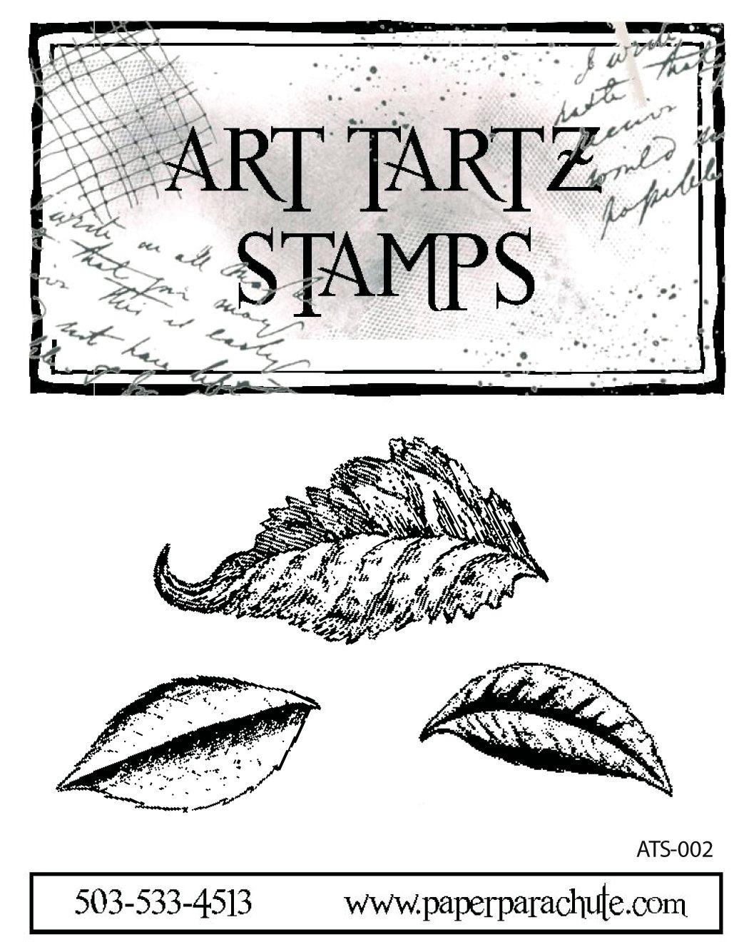Art Tartz Rubber Stamp Set - Leaves 1