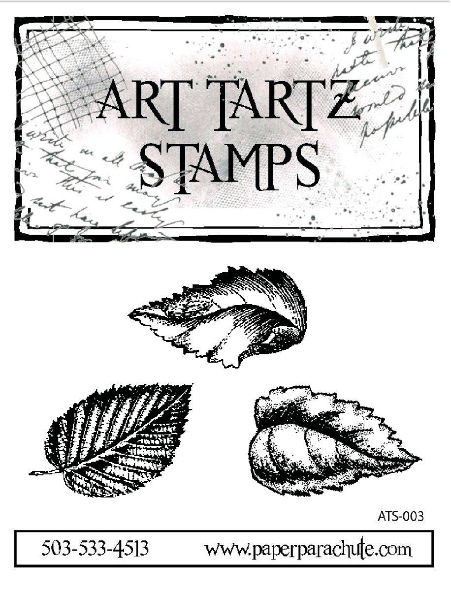 Art Tartz Rubber Stamp Set - Leaves 2
