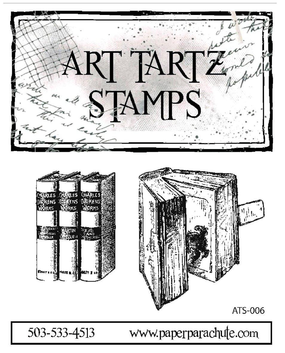 Art Tartz Rubber Stamp Set - Open Book