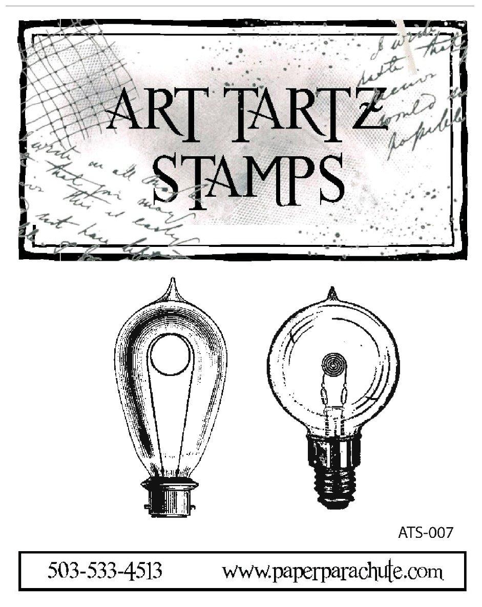Art Tartz Rubber Stamp Set - Light Bulbs