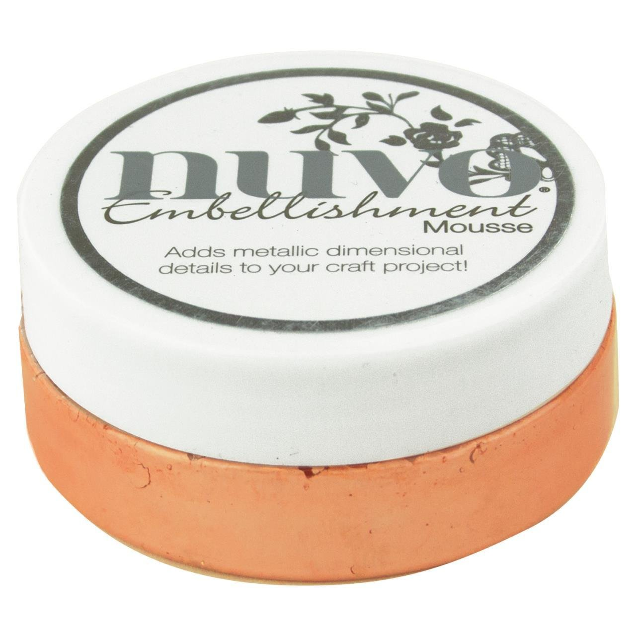 Nuvo Embellishment Mousse-Coral Calypso