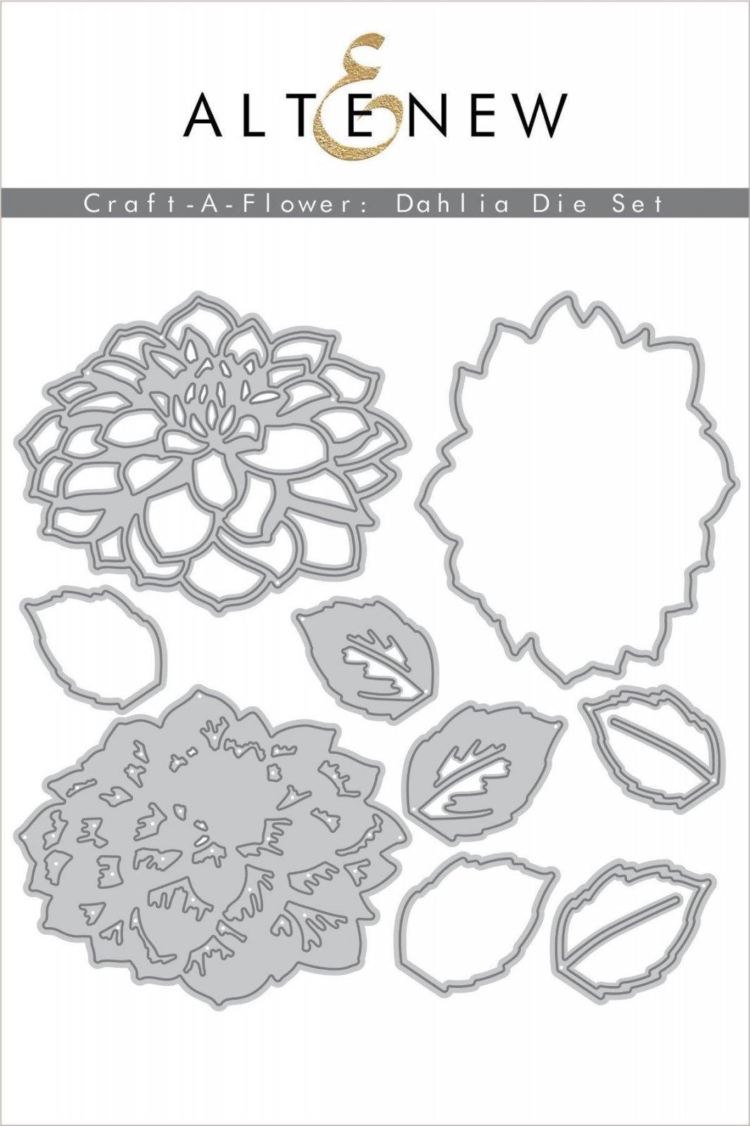 Altenew - Dies - Craft-A-Flower: Dahlia