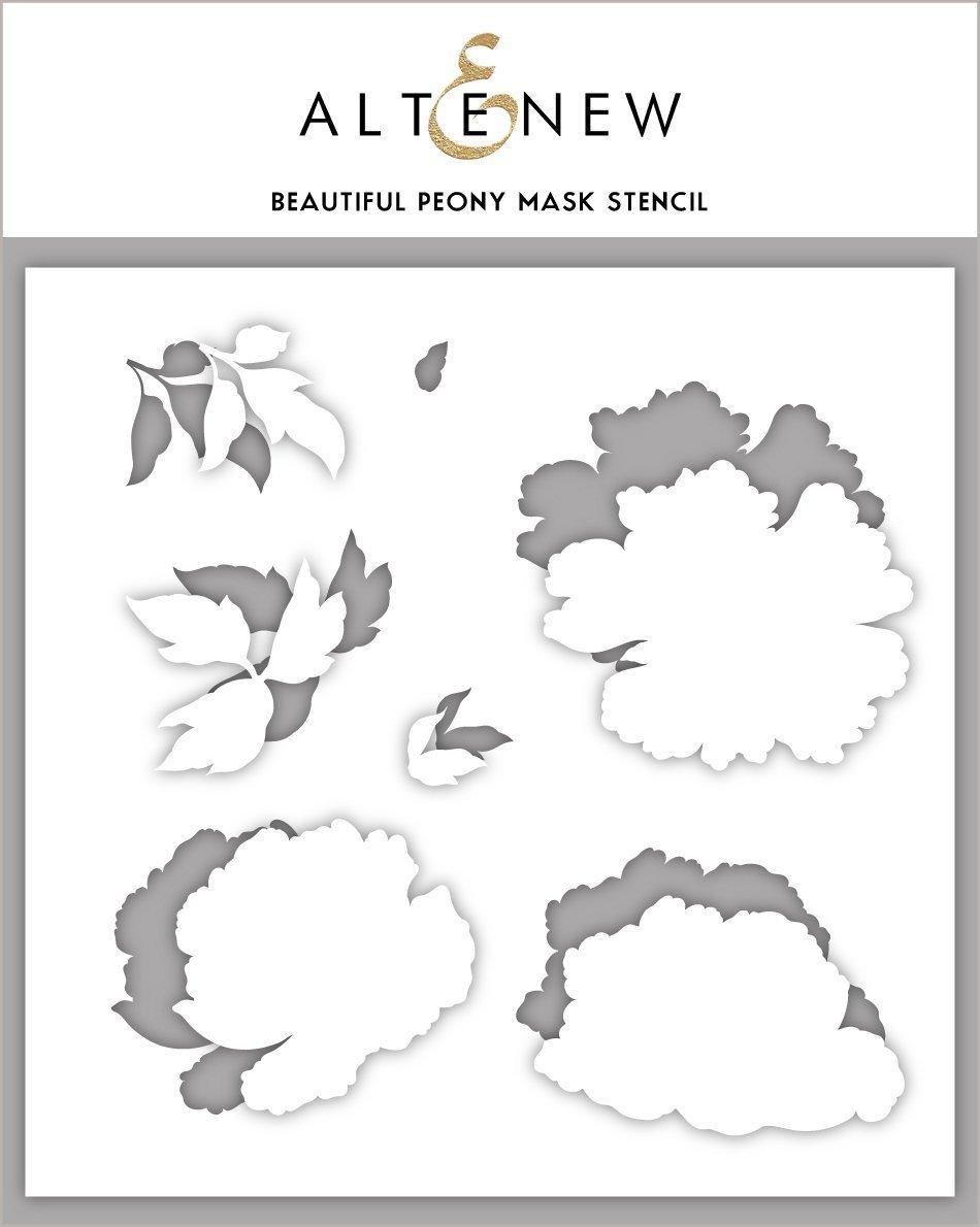Altenew - Stencils - Beautiful Peony