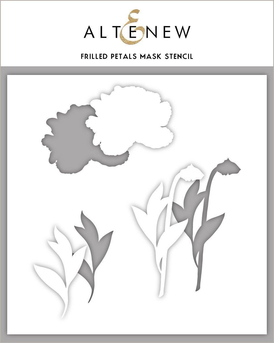 Altenew - Stencils - Frilled Petals