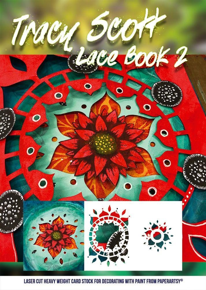 PaperArtsy - Tracy Scott - Lace Booklet 2