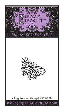Paper Parachute Rubber Stamp - UMCS289