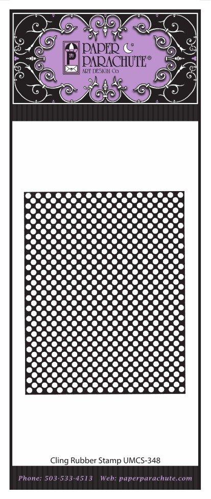 Paper Parachute Rubber Stamp - UMCS348