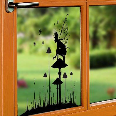 Lavinia Window Cling - Fairy Watch