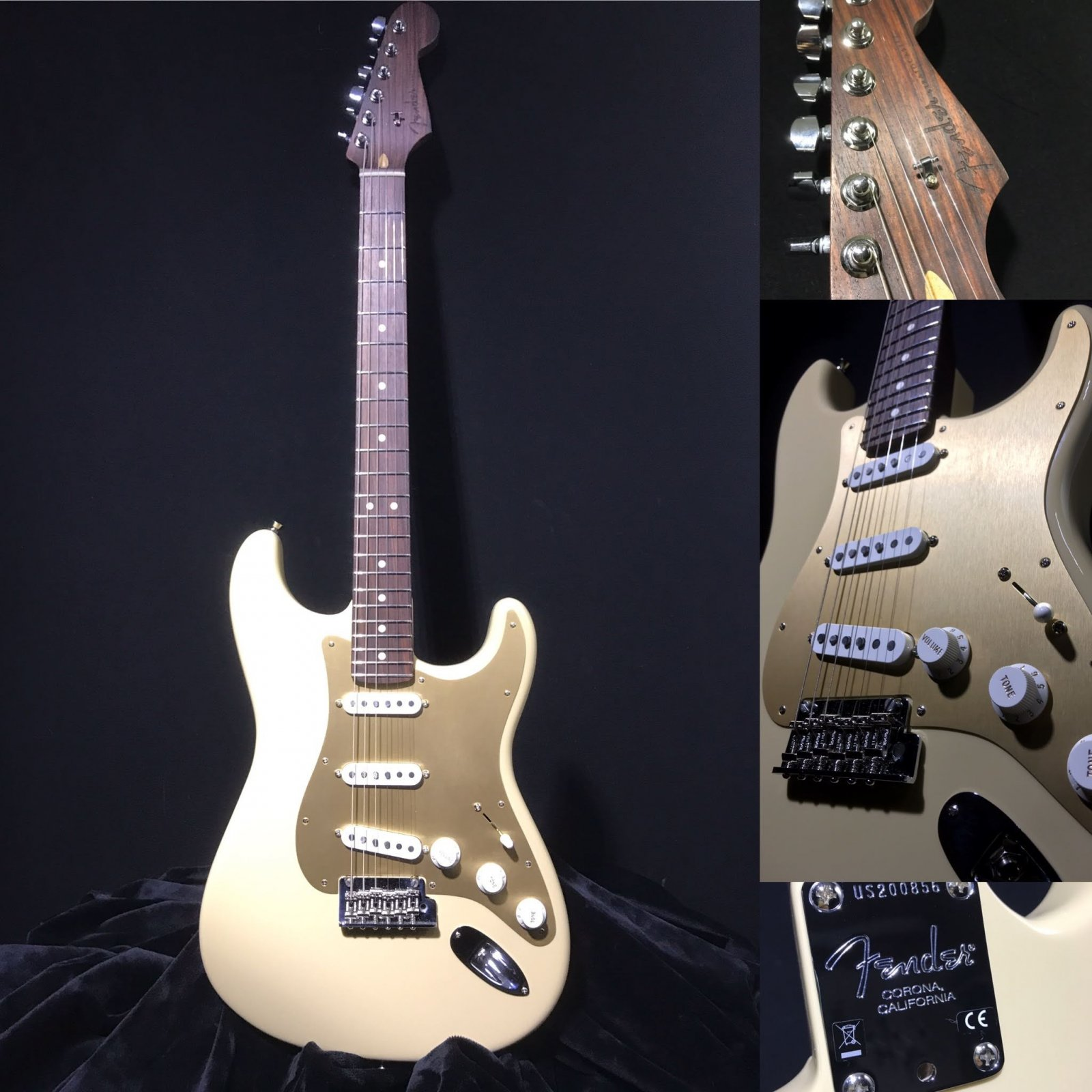 Fender American Professional  Stratocaster Limited Edition Desert Sand Rosewood Neck