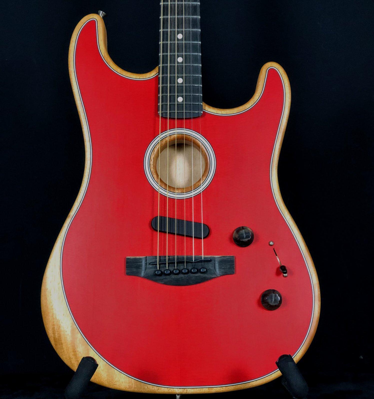 Fender Acoustasonic Strat Dakota Red