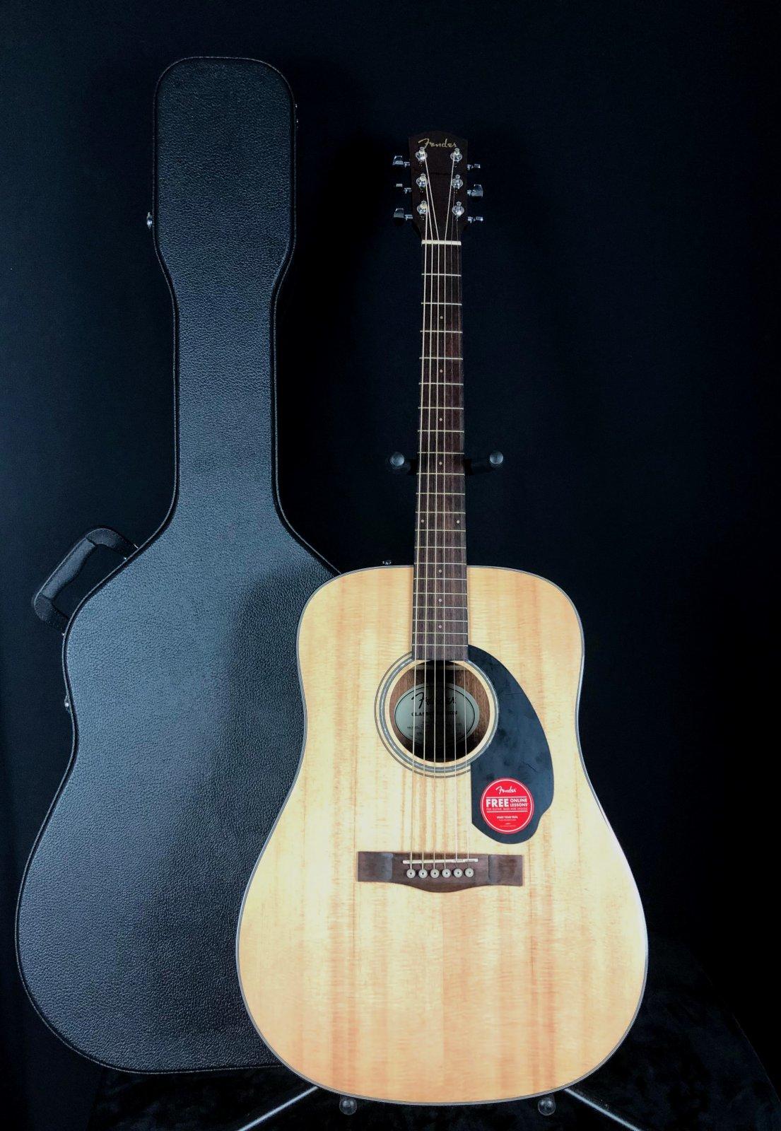 Fender CD-60 NAT w/ Case