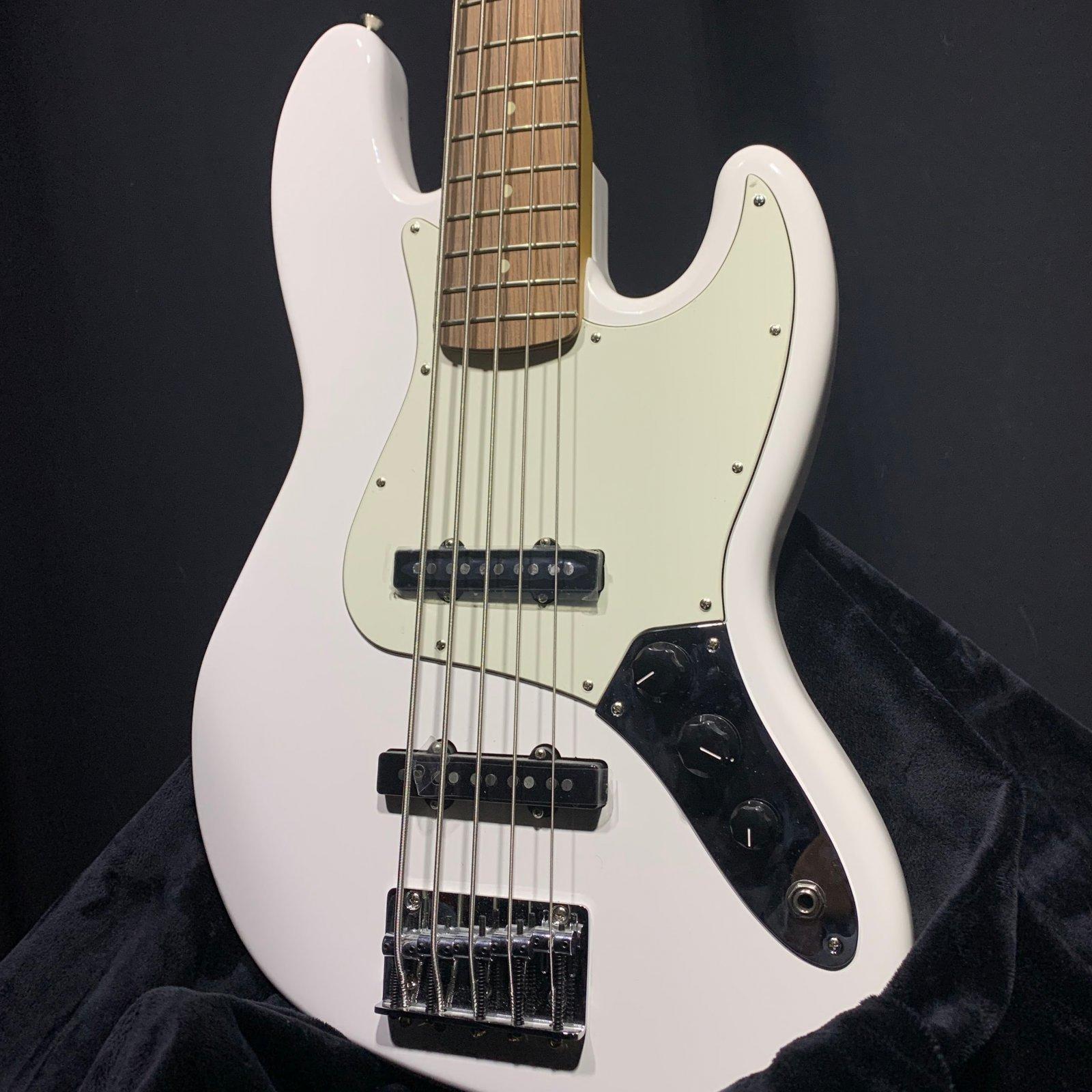 Fender Player Jazz Bass V White