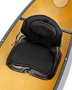 swift canoe & kayak pack boat high back seat