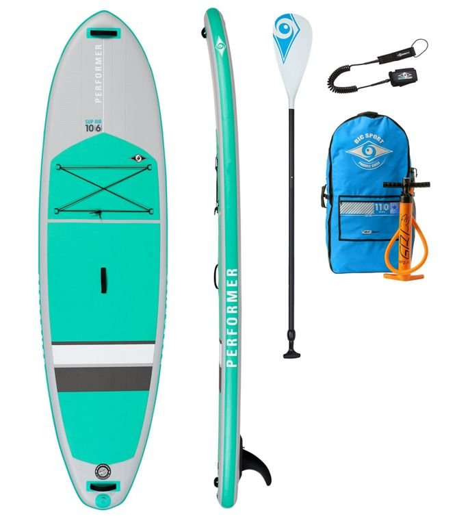 BIC Performer Inflatable SUP Package, 10'6