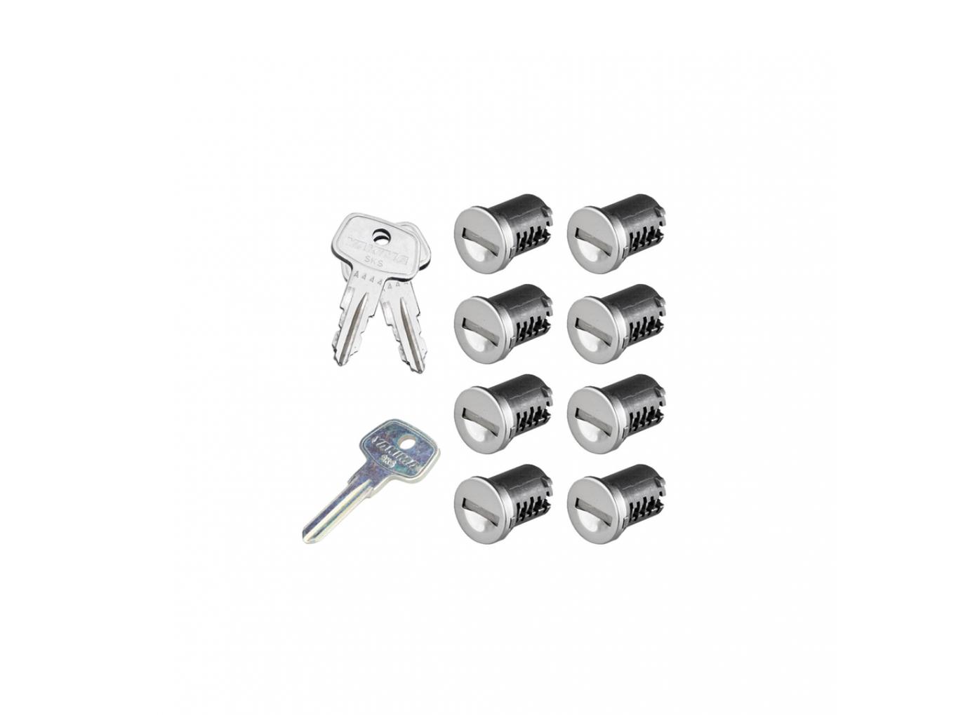 Yakima SKS Lock Cores - 8 Pack