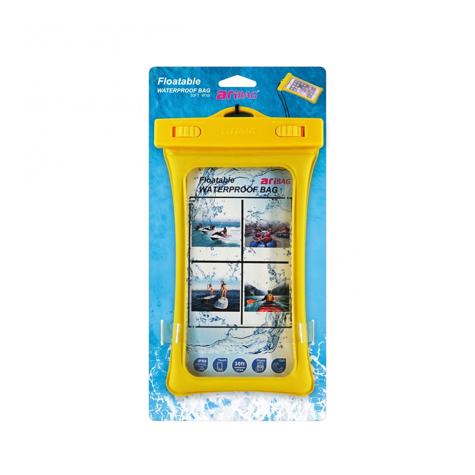 Aryca Airbag Floatable Waterproof Bag for Phones