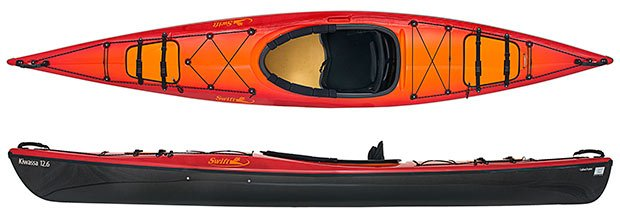 swift canoe & kayak kiwassa 12.6