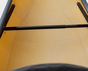 swift canoe & kayak carbon foot bar