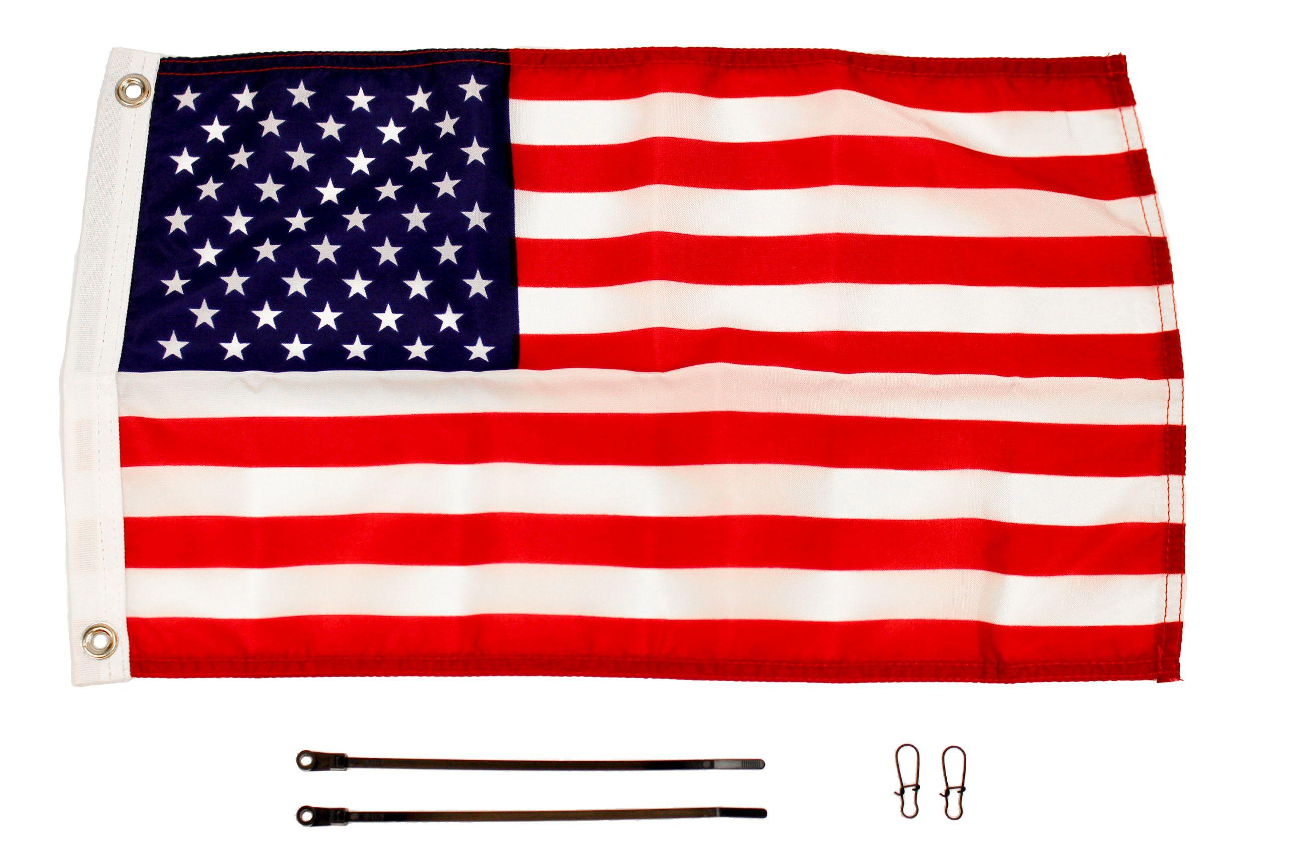 YakAttack American Flag Kit, 12'' x 18'' (FAM)