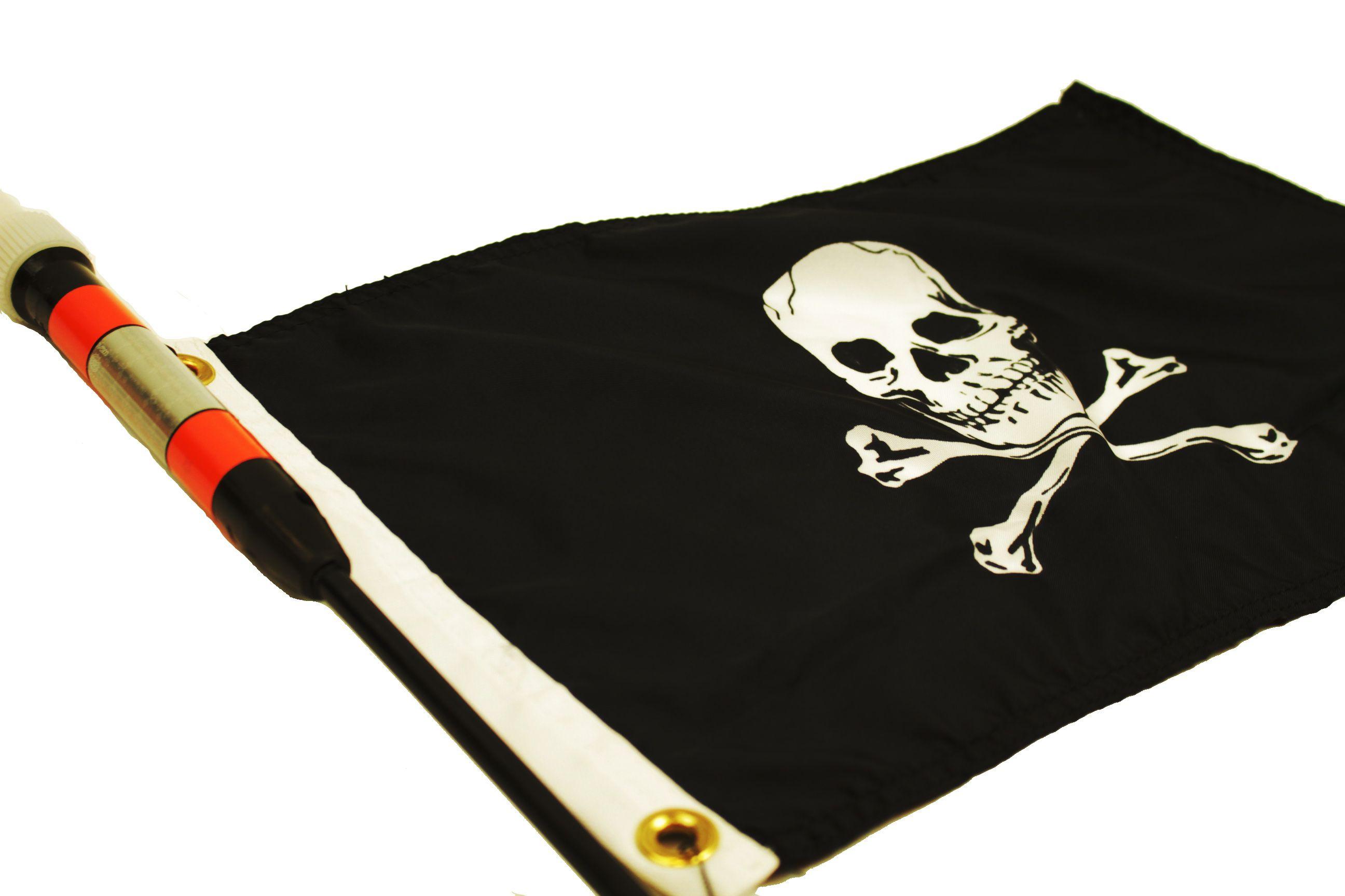 YakAttack Jolly Roger Flag Kit, 12'' x 18'' (FJR)