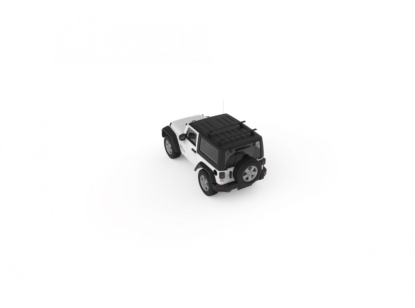 Yakima 42 Jeep Hard Top Streamline Track Kit