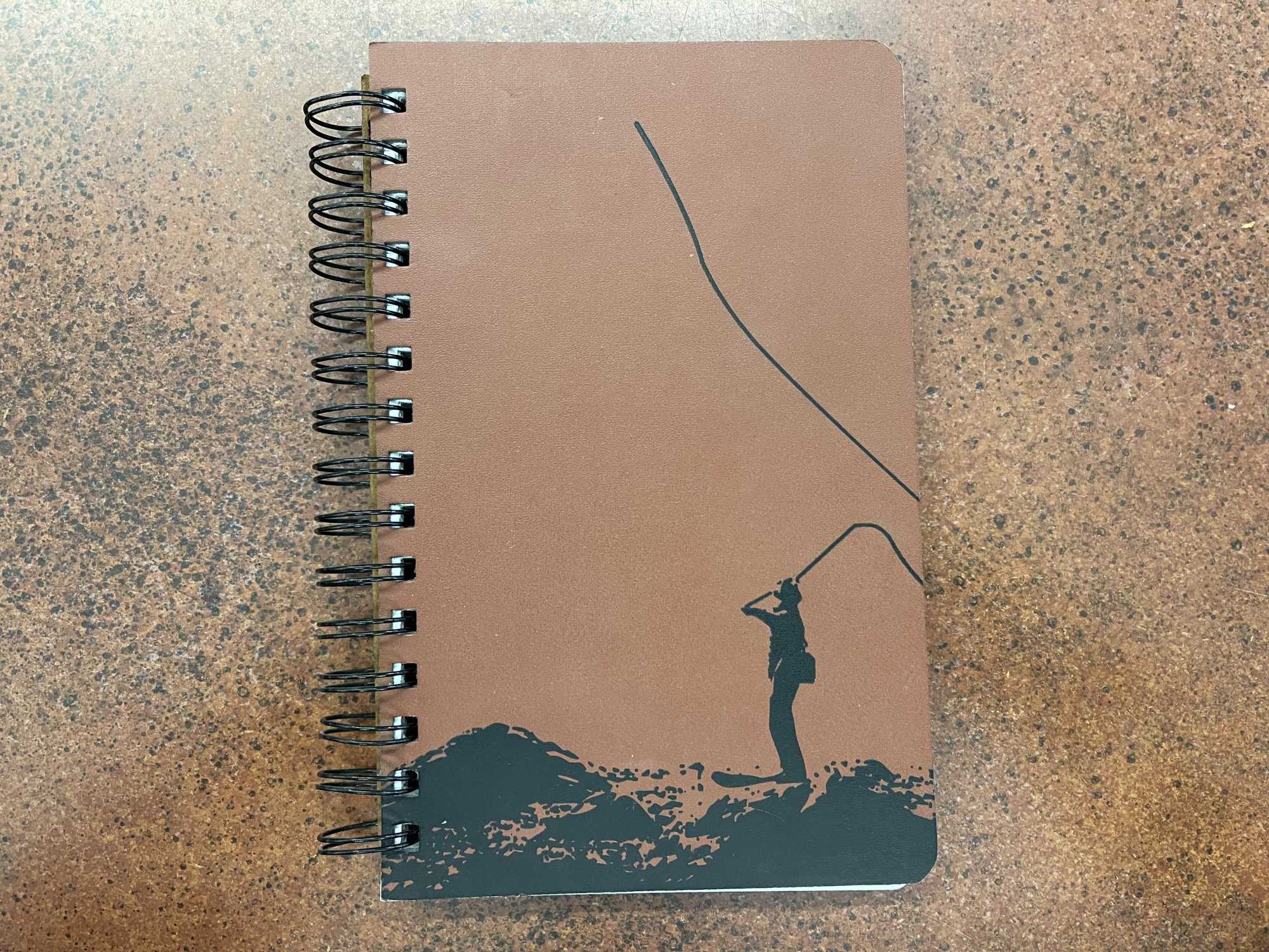 Fly Fishing Blank Journal
