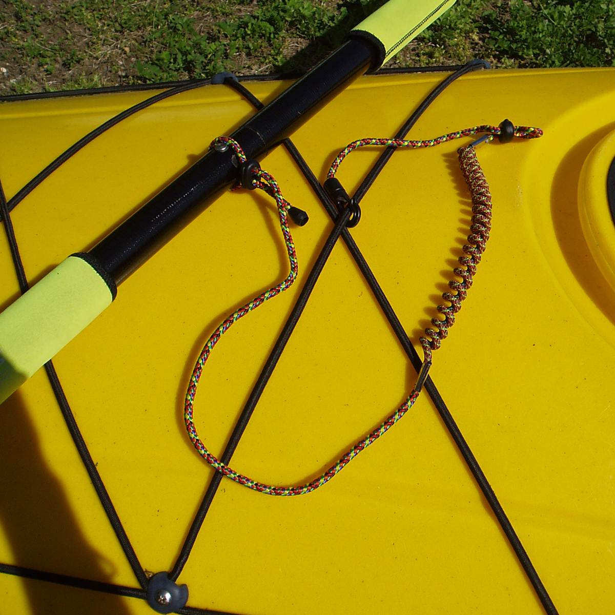 YakPads Coiled Paddle Leash