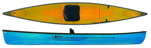 swift canoe & kayak recreational pack boat