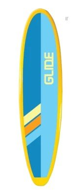 Glide Paddle Board Package w/Paddle & Leash