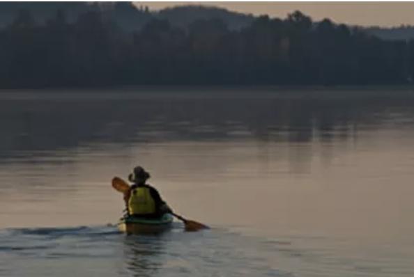 kayak paddler