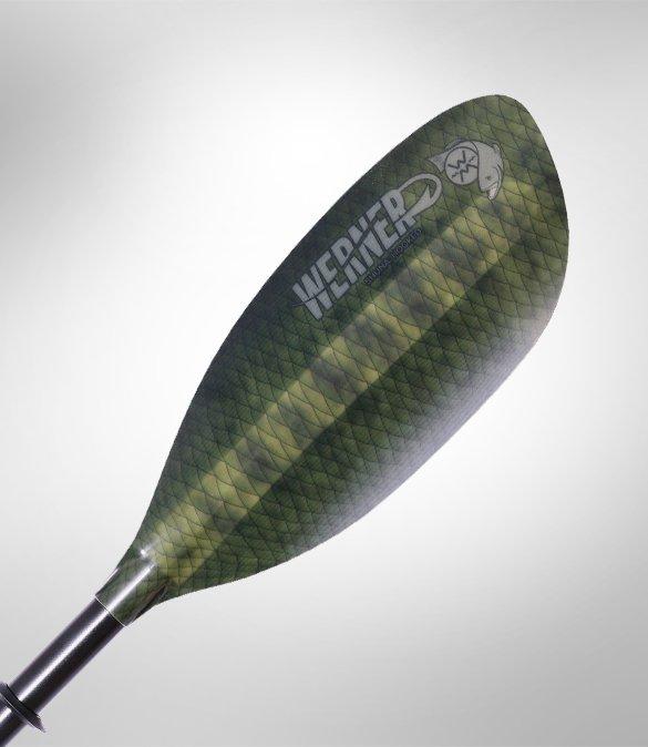 Werner Shuna: Hooked 2 Piece Straight Shaft