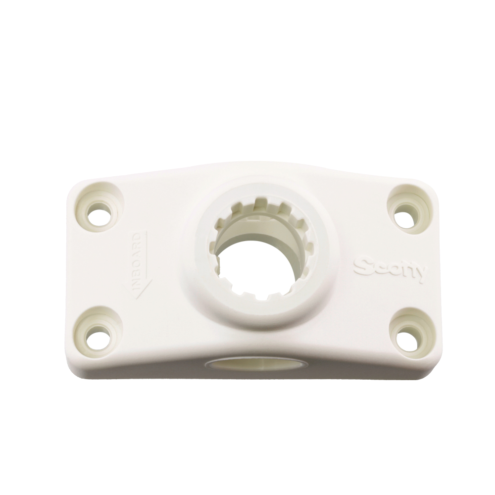 Scotty No. 241-WH White Combination Side / Deck Mount