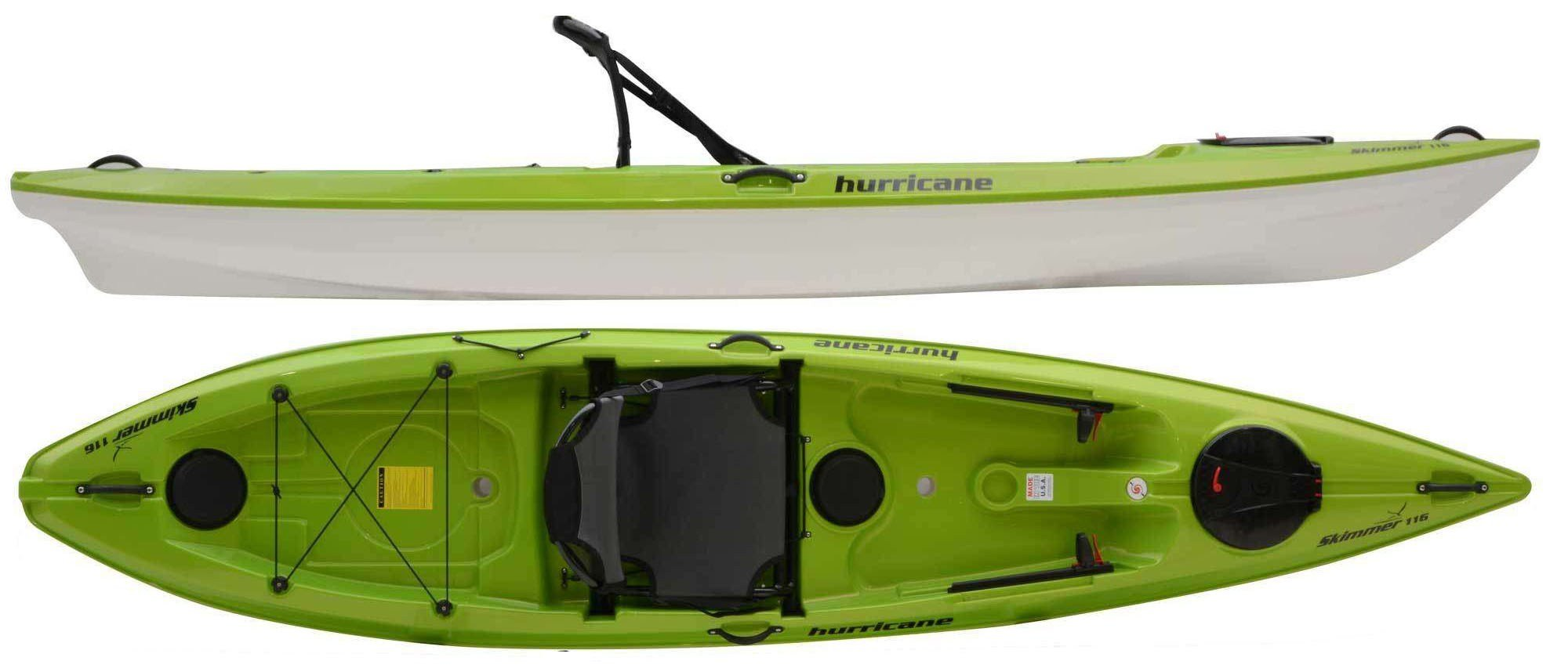 Hurricane Kayaks Skimmer 116 - W/First Class Seat