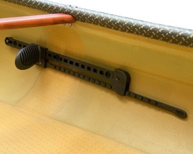 swift canoe & kayak kayak foot brace