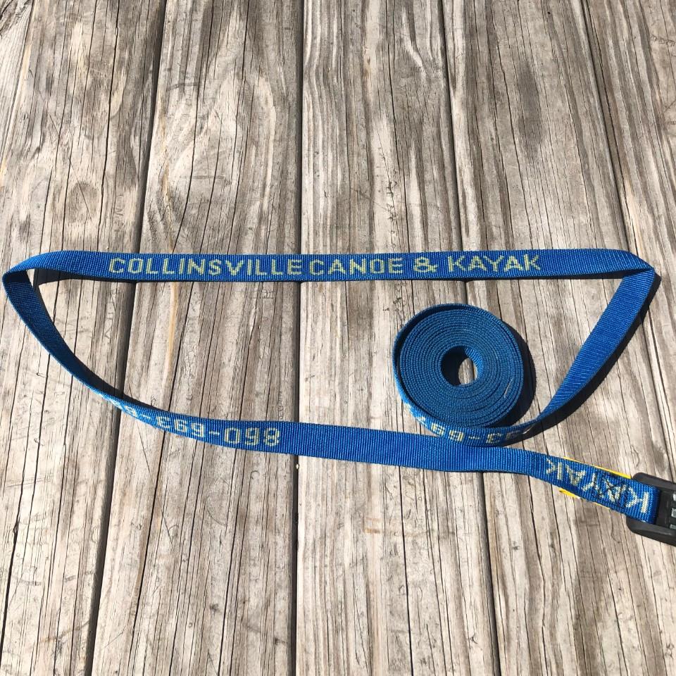 NRS 15' 1 HD Buckle Bumper Strap with Custom Logo