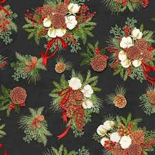 Christmas Holiday Pinecones by Springs Creative