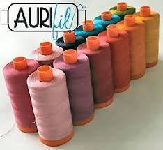 Aurifil Thread 100% Cotton  80 wt. thread   300 yards