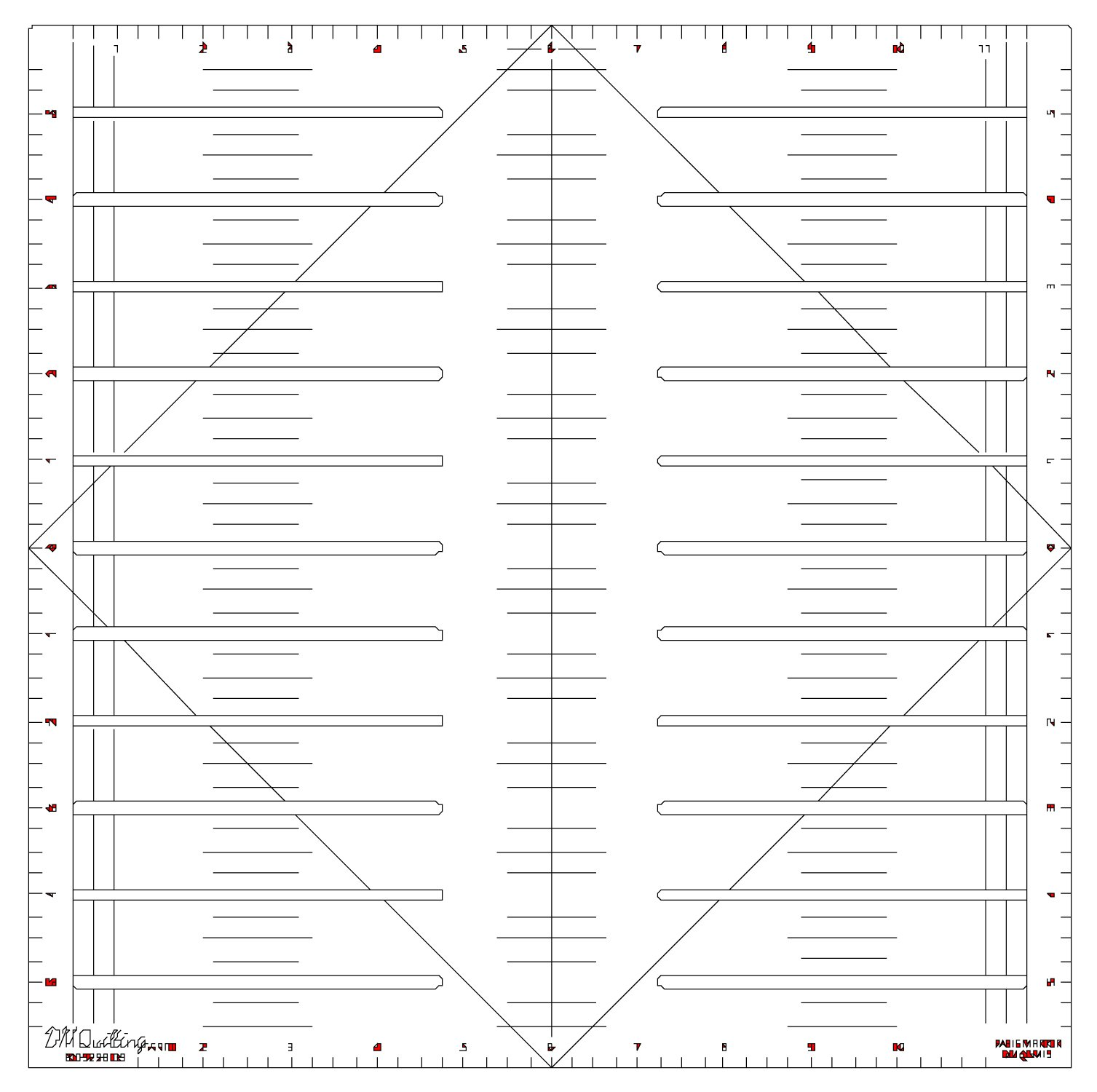 DM Quilting Basic Marker 12in x 12in