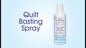 Quilt Basting Spray by June Taylor