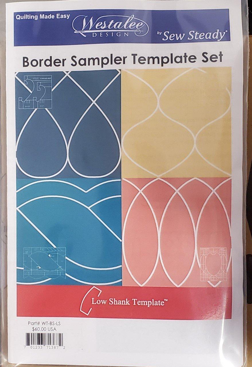 Border Sampler Template Set
