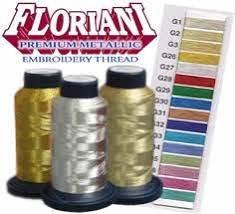 Floriani Premium Metallic Thread