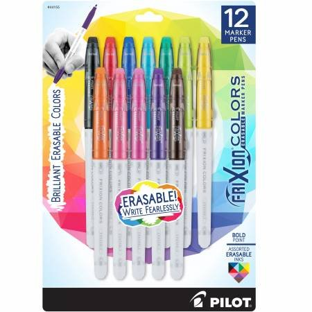Frixion Colors Bold Assorted 12pk