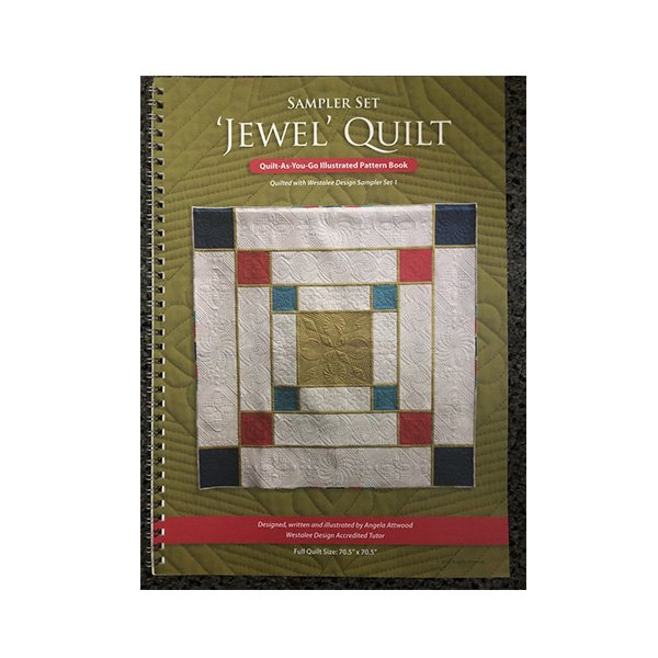 Jewel Quilt Book by Angela Attwood