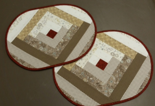 819 Quilt As You Go Placemats